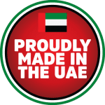 Proudly Made in the UAE Sticker