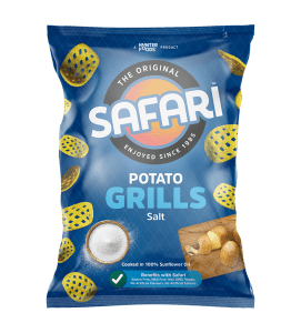 safari potato grills salt chips pack